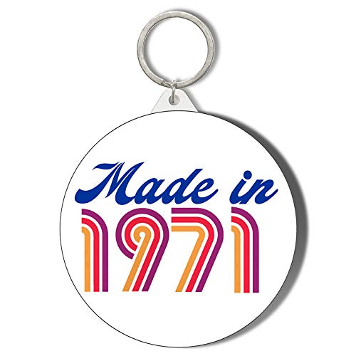 Made in 1971 50th Birthday Pin Badge