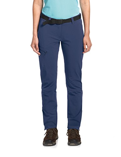 Maier Sports Damen Hose Inara Slim, Dark Blue, 23