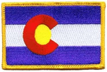 Colorado service Embroidered Patch Cheap bargain