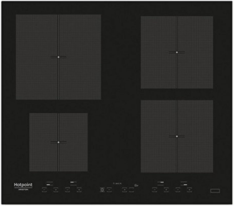 tienda de venta Hotpoint KID 640 B Integrado Con Con Con - Placa (Integrado, Con placa de inducción, Vidrio, Negro, 2500 W, 4000 W)  servicio honesto