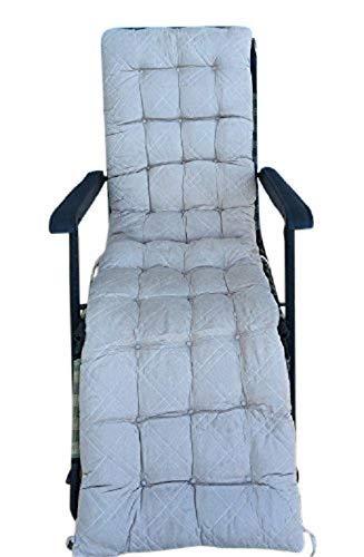 Ofit - Cojines y almohadones acolchados de microfibra tipo ante para sillas, bancos, tumbonas, otomanes - solo para interiores