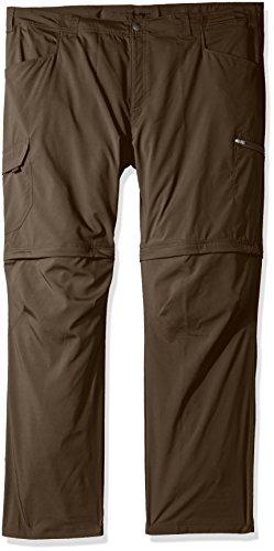 Columbia Silver Ridge Stretch Big & Tall Convertible Pants, Major, 50x36