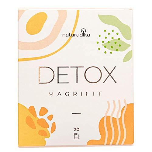 MAGRIFIT DETOX | Favorece el efecto detox adelgazante potente para dietas de adelgazar rapido y efectivo mujer con Cola de Caballo, Cardo Mariano y Cactinea | Ayuda con la retencion de liquidos