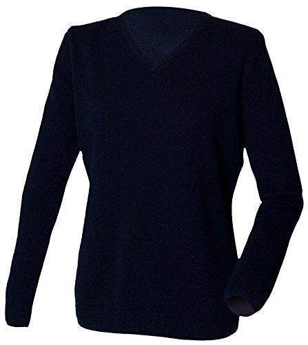 Henbury - Pull - Femme - Bleu - Bleu marine - Xxxx-large