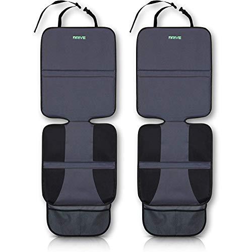 Drive Auto Products Housse de siège de Voiture pour bébé avec Tapis de Chien Pack de 2 Gris