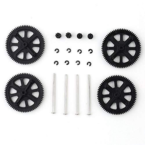 HUYANJUN, Actualización de Engranajes de piñón de Motor y reemplazo de Eje for Parrot AR Drone 1.0 2.0-17 775 (Color : Negro)