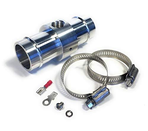 Steiger Performance Inline Radiator Hose Temperature Sensor Adapter for 1.5 inch (38mm) hose, 3/8 NPT