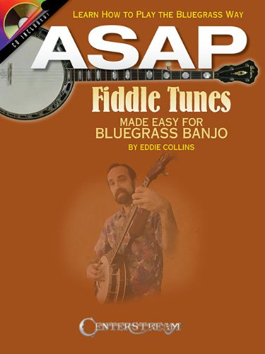 Asap Fiddle Tunes Made Easy For Bluegrass Banjo Tab Book/Cd