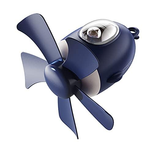 HXXXIN USB Kleiner Deckenventilator Wiederaufladbar Drahtlos Mit Nachtlicht Haushaltscampingzelt Im Freien Leise Fernbedienung Elektrischen Ventilator