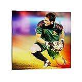 SHADIAO Iker Casillas Poster mit Fußballspieler-Motiv,
