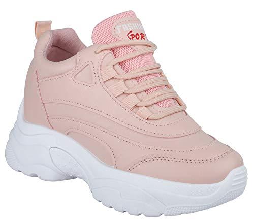 DEKKIN High Heel Ladies Girls Sports Running Shoes Sneakers