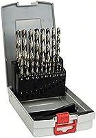 Bosch 2 608 587 013 - Set de 19 brocas para metal ProBox HSS-G, DIN 338, 135° - 1-10 mm (pack de 19)
