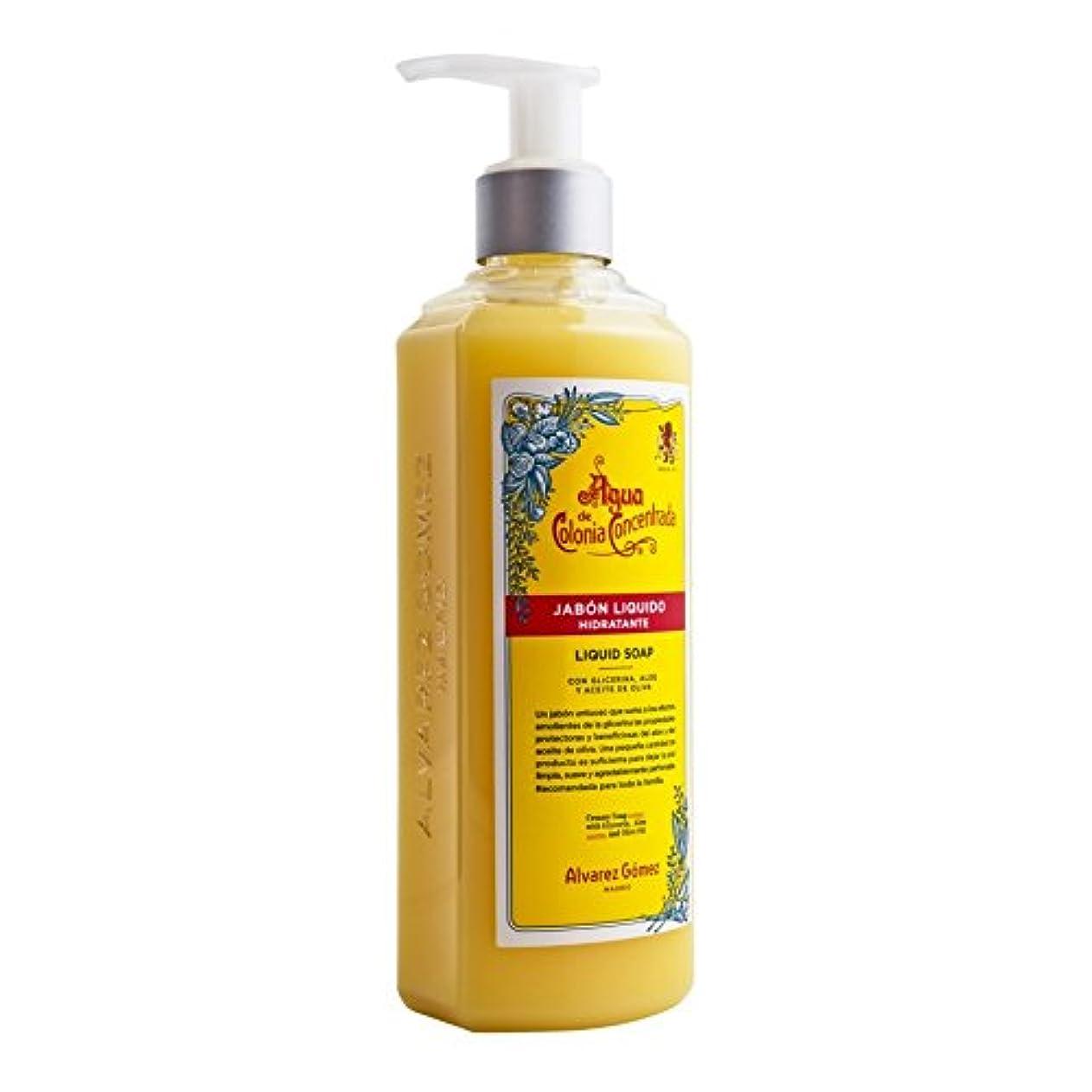 傷つきやすいバンジージャンプ農場?lvarez G?mez Agua de Colonia Concentrada Liquid Soap 300ml - アルバレスゴメスアグアデコロニ液体石鹸300ミリリットル [並行輸入品]