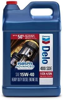 DELO Chevron 400 SDE 15W40 CK-4, 2.5 Gallon Jug