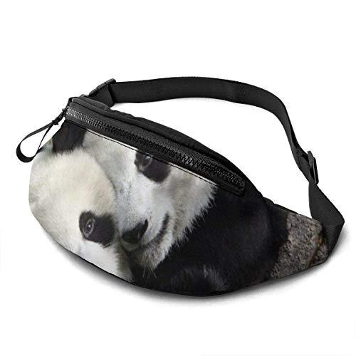 Tiere Panda Fashion Casual Gürteltasche Fanny Pa Reise Gürteltaschen Laufender Dichter Für Männer Frauen