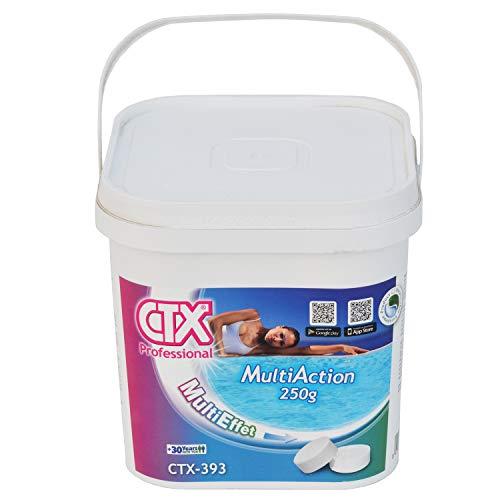 CTX 393 Cloro Triplex Pastillas de 250gr Envase de 5 Kg