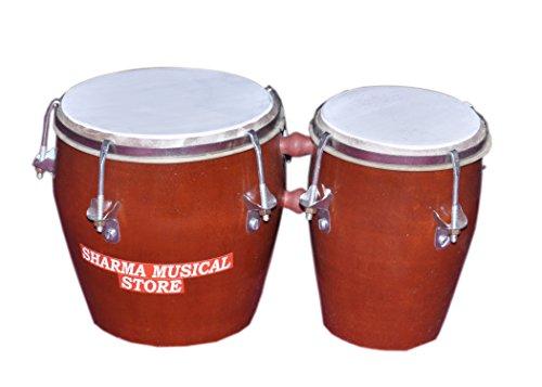 Sharma Musical Store Wooden Bongo