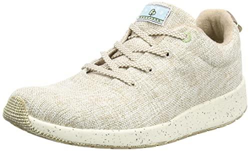 Skechers Bobs Earth, Zapatillas Mujer, Beige (Nat), 37 EU