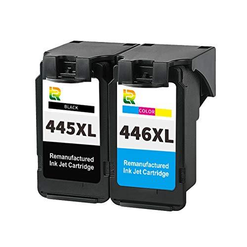 Cartuchos de tinta PG445XL CL446XL de repuesto para impresora de inyección de tinta Canon MG2440 2540 3040 2940 IP2840 TS3140 de alto rendimiento compatible con combinación de color y negro