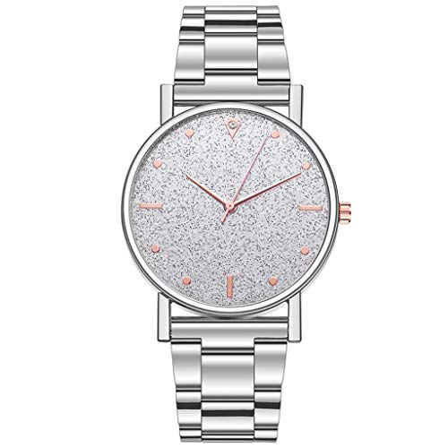 Fenverk Unisex Armbanduhr Damen-Uhr Herren-Uhr, Analog Display, Quarzwerk, Kunst-Leder-Armband, Chronograph-Optik(C#01)