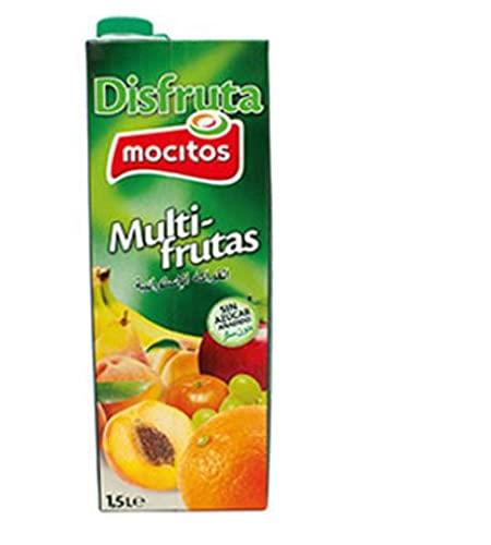 NECTAR MULTRIFRUTAS SIN AZUCAR AÑADIDOS DISFRUTA MOCITOS BRICK 1.5 LT (8 BRICKS)