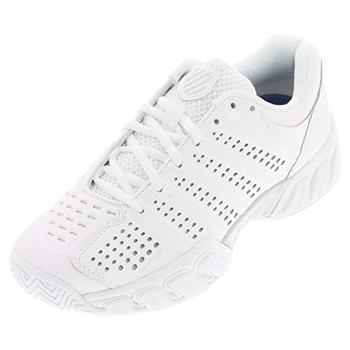 K-Swiss Women's Bigshot Light 2.5 Tennis Shoes (White/White) (10 B(M)...