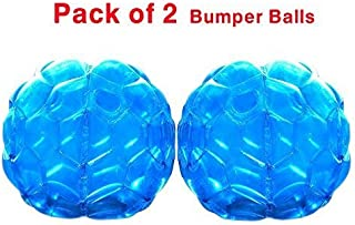 Geekper Sumo Inflatable Body Bubble Bumper Bopper for Kids and Adults Balls (Renewed) Blue