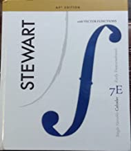 Single Variable Calculus, AP edition, Early Transcendentals with Vector Function, 7E, Stewart