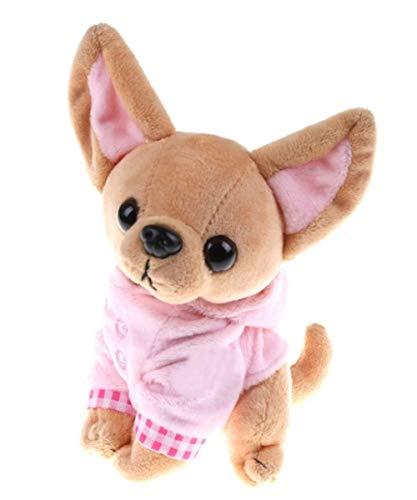 Marni's - Peluche Cachorro Perro Chihuahua - 17cm de Alto -