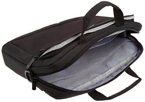 AmazonBasics Laptop-, Macbook- und Tablet-Schultertasche, für Laptops bis zu 14 Zoll (35,6 cm), Schwarz, 1 Stück - 5