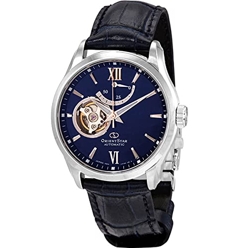 Orient Orient Star Reloj automático para hombre con esfera azul RE-AT0006L00B