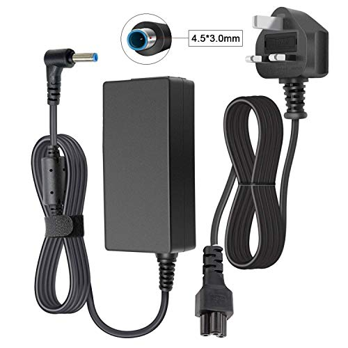 HP 45W Laptop Charger, YWCKING 19.5V 2.31A Power Adapter for HP Stream 11 13 14 Series, Elitebook Folio, Spectre Ultrabook, Pavilion Touchsmart and More(4.5mm * 3mm)