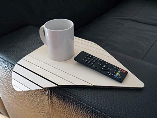 Dreieckig holz sofa armlehnentisch in vielen farben wie pappel Armlehnentablett Moderner tisch für couch Klein schleichendes sofatisch Armlehne flexibel tablett Falten couchtisch Kleine tische