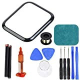 newshijieCOb Front Glass Lens Replacement Screen Repair Kit Compatible with Apple Watch 2/3/4/5/6 Series Compatible with Apple Watch 44mm (Series 5)