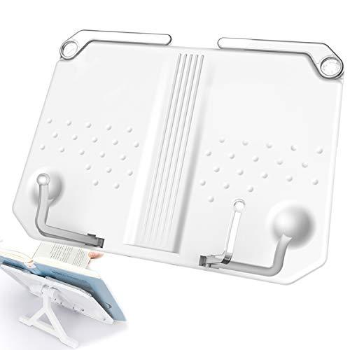 Xnuoyo ブックスタンド 本立て 読書台 書見台 折りたたみ 180°角度調節 視力保護 姿勢?正 収納便利