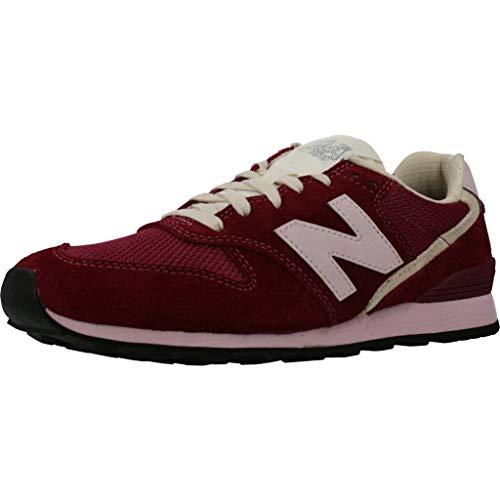 New Balance Wl996svb Damen Walking Shoe, grau - rosa (Antique Rose) - Größe: 41 EU