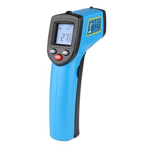 BENETECH GM531sin contacto digital láser por infrarrojos termómetro -50~ 530C (-58~ 875F) 0.1–1.0ajustable infrarrojos láser punto arma pirómetro