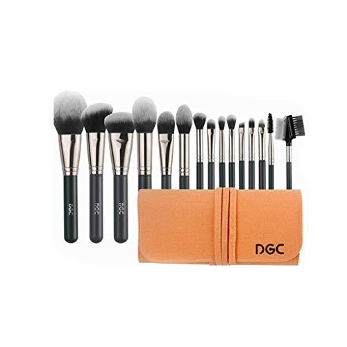 Pinceau de maquillage GCX- 15 Professionnel Ensembles Poudre Fard à Joues Pinceau Fond de Teint Ensemble Complet de Super Soft Outils Beau
