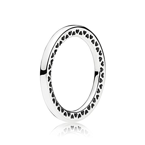Classic Hearts of PANDORA Ring in Sterling-Silver 196237