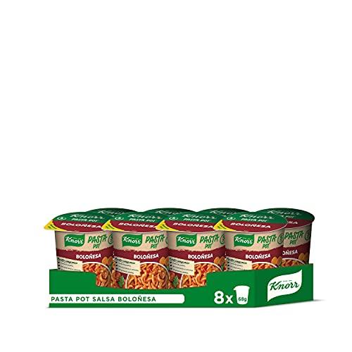Knorr Pot Plato Preparado de Pasta Boloñesa - 68 gr - [Pack de 8]