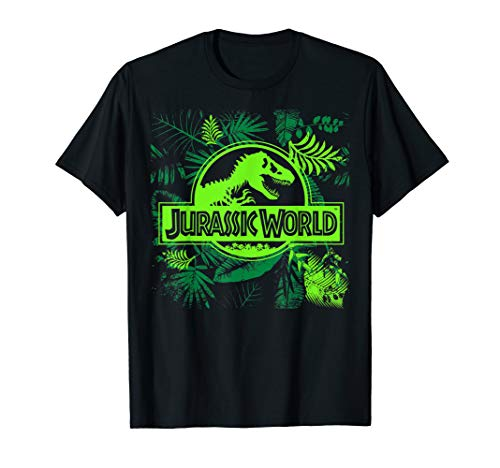 Jurassic World Green Jungle Classic Logo T-Shirt