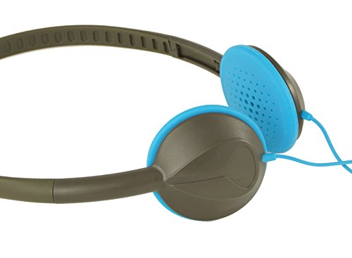 Nixon The Whip On-Ear Kopfhörer Farbe grau/blau ultra-leicht
