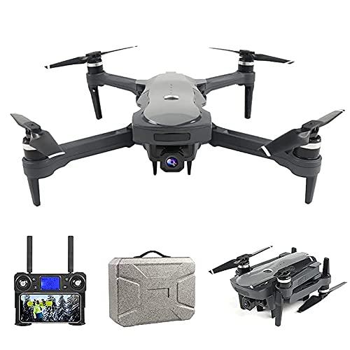 J-Clock Drone con cámara Drone Plegable con cámara para Adultos 4K HD FPV Live Video, Tap Fly, Control Gestos, Altitude Hold, Modo sin Cabeza, 3D Flips, RC Quadcopter para niños con baterías y Carr