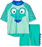 Speedo Corey Croc Niños Conjunto De Camiseta Y Pantalón Corto De Baño, Infant Unisex, Blanca, 9-12 Meses