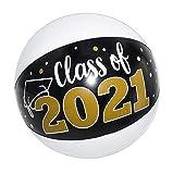 12 Pcs Graduation Beach Balls Class of 2021 - 11' Graduation Party Favors, Grad Party Supplies 2021 , Kindergarten Graduation Party Favors Gifts for Kids Seniors Teens Adults by 4E's Novelty