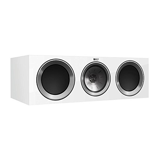 KEF R200c Center Channel Loudspeaker - Gloss White (Single)