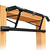 ROSRAN Pull Up Bar for Doorway Doorway Chin Up Workout Bar - Portable Pull-up Bar Upper Body Indoor Gym Pullup Bar - Pull Up Bar Doorframe - Angled Grip FBA Ship