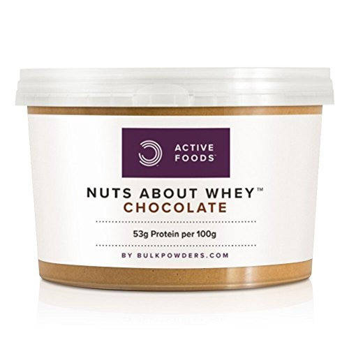 BULK POWDERS Erdnussbutter mit Whey Isolat, Schokolade, 500 g