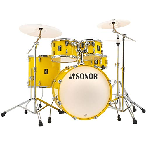 Sonor AQ1 Stage Set Drum Kit Lite Yellow