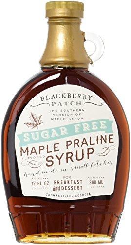 Maple Praline Flavored Sugar Free Syrup, 12oz, Blackberry Patch